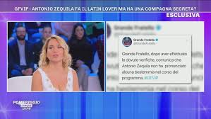 Pomeriggio Cinque: #GFVIP: Antonio Zequila non ha bestemmiato Video