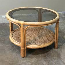 rattan coffee table round mid century rattan coffee table with glass top inessa stewarts nz rattan rattan coffee table