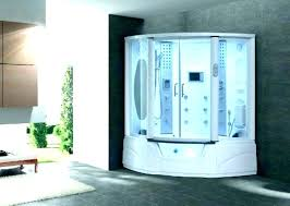 steam shower bath combo mesa steam shower steam shower with whirlpool bathtub combo showers in tub