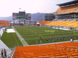Heinz Field Seating Chart Heinz Field Seating Chart Rows Section 120 Seat Views
