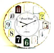large clock wall wood wall clocks large clock old world digital o giant wall clock nz