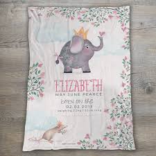 elephant baby blanket fl