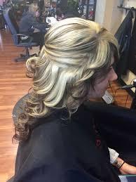 Heavy Blonde Highlight With Dark Brown