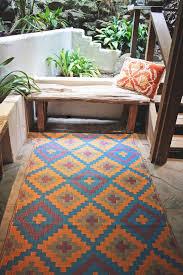 popular of fab habitat outdoor rug fab habitat indoor outdoor patio rug mat saman blue orange