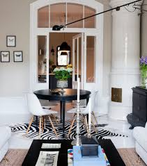 Zebra Rug Living Room Pin By Katherine On Dining Rooms Pinterest Scandinavian Style