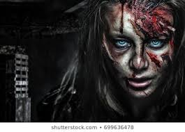 <b>Scary Woman Face</b> Images, Stock Photos & Vectors | Shutterstock