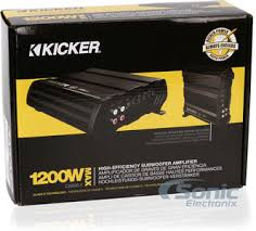 kicker cx600 1 12cx600 1 monoblock 1200w class d car amp product kicker cx600 1 12cx600 1 25 sonic electronix gift card