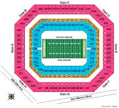 Sun Life Stadium Virtual Seating Chart Sun Life Stadium Formerly Dolphin Stadium Seating Chart