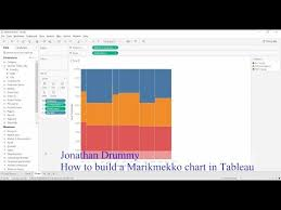 Tableau Tutorial Creating A Marimekko Mekko Chart