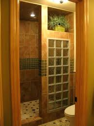 showers glass block shower wall master with blocks cost walk in d