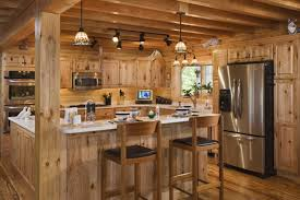 log cabin homes interior beautiful log cabin kitchen design ideas homes interior lrg bccbafb best log