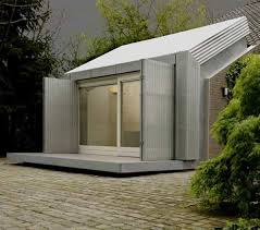 exterior office design. Inspiring Home Office Ideas: Garage Turned Into Delightful Small In Netherlands : Cool Exterior Design