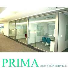 sliding glass wall cost cubicle walls tempered exterior per square foot in india interior patio