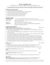 Sample Programmer Resume Resume Samples