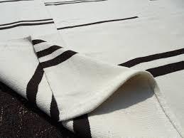 black and white rug 9 1 x12 2 feet 278x372 cm