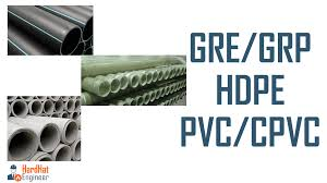 Pvc Cpvc Hdpe Gre Gpr And Cement Pipes