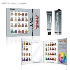 Hot Item Custom Design Salon Hair Dye Color Chart