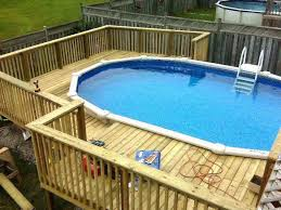 above ground pool deck kits. Pool Deck Kit Kits Image Of Above Ground Wood  Railing . A
