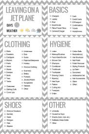 17 best ideas about travel packing lists packing this is such a great little travel packing list from pinque blog stylelife