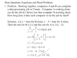 quadratic formula word problems worksheet answers switchconf