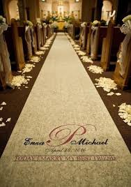 wedding aisle runner personalized ivory Unique Wedding Aisle Runner request a custom order and have something made just for you unique wedding aisle runners