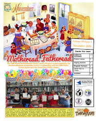 November 2016bbd Motheread/Fatheread Newsletter by Cnmi Motheread Fatheread  - issuu