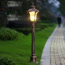 outdoor lighting bollards luxury garden lawn light bollards courtyard corridor villa lamp tall outdoor lighting bollards