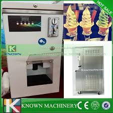 Self Service Ice Cream Vending Machine Interesting Automatic Running Self Service 48L Mix48 Soft Ice Cream Machine