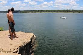 Top Five Cliff Jumping Spots | Austin Fit