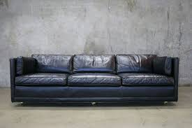 vintage black leather sofa. Fine Black Black Vintage Leather Tuxedo Sofa Office Sofa With Vintage Leather Sofa S