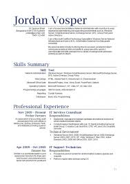 skills and qualifications resume skills and qualifications free resume templates
