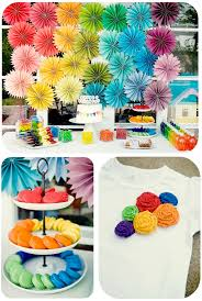 Diy Party Printables Karas Party Ideas Diy Summer Rainbow Party Full Of Ideas