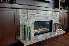 granite tile fireplace surround fireplace designs