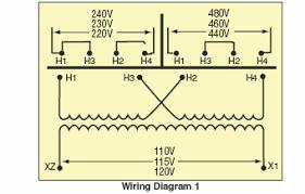 transformer wiring diagrams efcaviation com 480v to 120v transformer wiring diagram at 480 To 240 3 Phase Transformer Wiring