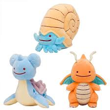 <b>New Arrival</b> Pokemon Ditto Lapras Dragonite Plush Toy <b>Soft</b> Doll Gift ...