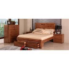 Tasmanian Oak Bedroom Furniture Hastings Queen Tallboy Suite Tas Oak Natural Ej N1358 Queen