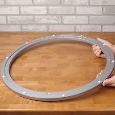 lazy susan extra large aluminum swivel tap to expand