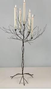 Metal Twig Tree Metal Display Candle Tree 71In Event Decor