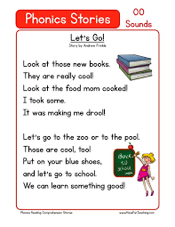 Kids. free printable stories for kindergarten: Printable Reading ...