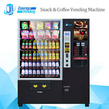 Coffee Vending Machine Working Magnificent China Double Cabinet Coffee Vending Machine C48 China Coffee