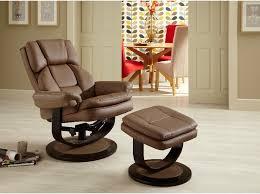 serene vardo swivel recliner chair and footstool