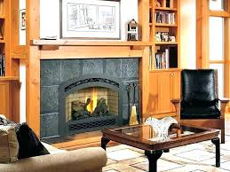 replacement gas fireplace inserts s install gas fireplace insert cost