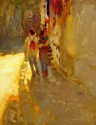 draw kim english 1957 american plein air painter