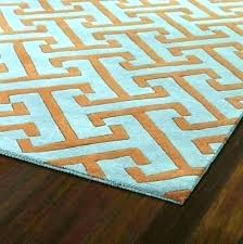 orange yellow green area rug and blue brown rugs hand tufted multi colored