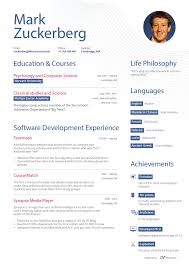 breakupus scenic resume samples types of resume formats examples breakupus gorgeous what zuckerbergs resume might look like business insider comely mark zuckerberg pretend resume first page and prepossessing pretty