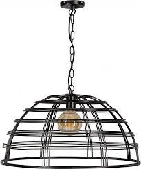 Hanglamp Barletta Draadlamp Zwart 70cm Max155cm Eth Lilnl