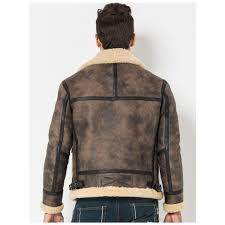 men fur coat flight jacket b 3 er leather jacket men39s shearling jacket trim lambskin aviator j 32835026318 1 750x750 jpeg