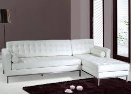 modern white leather sofa white leather sectional sofa interior
