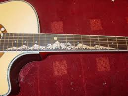 Fret Inlay Designs So You Want To Put Mountains On A Fretboard Yes