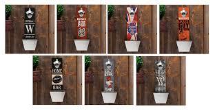 mesmerizing wall mounted beer openers bottle opener with cap catcher designs mount